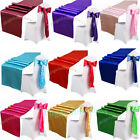 "5PCS 12""X108"" Satin Table Runner Wedding Party Decorations 20Colors You Choose"