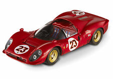 HOT WHEELS ELITE 1/43 1967 DAYTONA 24HRS FERRARI 330 P3/P4 SPYDER #23 P9958