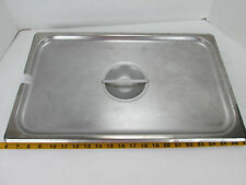 Full Size Pan Lid w/Handle Stainless Hotel Restaurant Buffet Food Steamtable GS