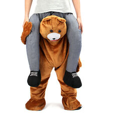 Teddy Bear Mascot Costume Ride On Adults Pants Fancy Dress