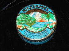 Vintage NICESKISES French Assorted Bonbon Candies Tin HOME DECOR