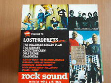 ROCK SOUND VOL.76 LOSTPROPHETS THE SERVANT ONLY CRIME THE DILLINGER ESCAPE PLAN