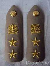 Lybian Army Military Officer's Tropical Rank Slides / Epaulettes