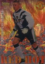 MANCHESTER UNITED Futera Red Hot 98 insert PETER SCHMEICHEL