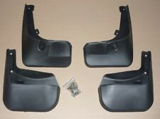 4 MUD FLAPS  (FRONT & REAR) FIT PEUGEOT 207 (2008-2014) MUDFLAPS NEW