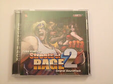 Streets Of Rage 2 Original Soundtrack Brilliant Condition With Poster Very Rare