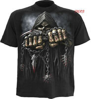 Spiral Direct Game Over T Shirts/Skull/Gothic/Biker/Horror/Darkwear/Metal/Top
