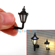 5pcs Model Railway Led Lamppost Lamps Wall Lights 1:150 N Scale 3V New