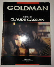GOLDMAN PHOTOS DE CLAUDE GASSIAN // PAUL PUTTI ED. 1988