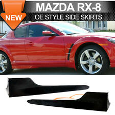 04-10 Mazda Rx8 Poly Urethane Side Skirts 2Pcs Pair Left Right