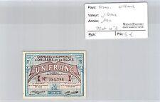 BILLET DE NÉCESSITÉ - FRANCE - ORLÉANS - 1 FRANC - 1920
