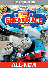 Thomas & Friends: The Great Race - The Movie (DVD + Digital HD) New DVD! Ships F