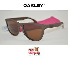 OAKLEY® SUNGLASSES FROGSKINS® HIGH GRADE TOBACCO DARK BRONZE TINT NEW FREE SHIP