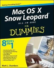 Mac OS X Snow Leopard All-in-One For Dummies, Chambers, Mark L., Good Condition,