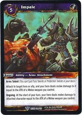 WORLD OF WARCRAFT WOW TCG REIGN OF FIRE : IMPALE X 3