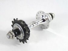Campagnolo C Record Track Hub 28H W  C  Lockring & 15T Campy Alloy Cog 120mm NOS