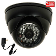 "Outdoor Dome Security Camera Wide Angle Day Night Vision with 1/3"" SONY CCD CE7"