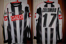 maglia udinese colombo lotto nr 17 gaudi