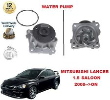 FOR MITSUBISHI LANCER 1.5 109BHP 2008-- ON WATER PUMP