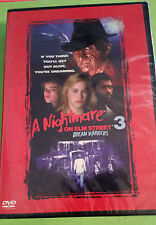A Nightmare on Elm Street 3 - Dream Warriors (DVD, 1987) FREDDY KRUEGER - HORROR
