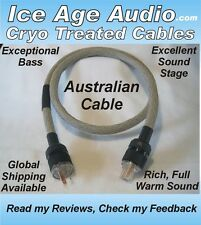 10 Gauge Cryo Treated AU NZ Australia Power Cord, Cable, Audiophile, IEC, Copper