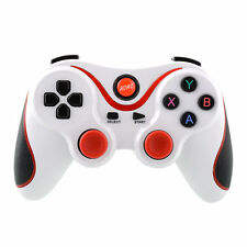 Wireless Bluetooth Remote Gamepad Controller White+Red For IPhone Samsung PC