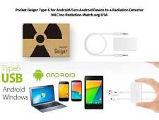 Radiation Detector-Pocket Geiger Type 6 for Android- Turn smartphone to detector