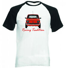 POLISH MALUCH RED FIAT 126P INSPIRED RACING - COTTON TSHIRT - ALL SIZES IN STOCK