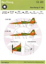 Bestfong Decals 1/48 NORTHROP F-5B FREEDOM FIGHTER Republic of China Air Force