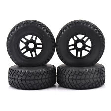 1/8th Scale RC Short Course Truck 17mm Hex Tire & Wheel For TRAXXAS AE HPI 4PCS
