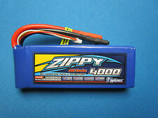 ZIPPY 4000mAh 3S 45C 55C LIPO BATTERY 11.1V 5.5MM TRAXXAS E-REVO SUMMIT SLASH RC