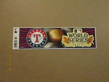 MLB TX Rangers 2011 World Series Fall Classic B.Sticker