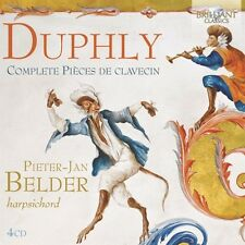 PIETER-JAN BELDER - COMPLETE PIECES DE CLAVECIN(BOX SET)4 CD NEU DUPHLY,JACQUES