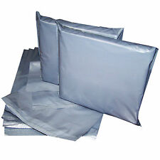 """100 x 9'' x 12"""" GREY CHEAPEST STRONG MAILING POSTAGE BAGS TOP QUALITY"""