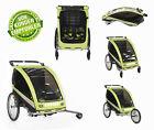 KidsCab Cares for 2 Child Bike Trailer Stroller Jogger Bicycle trailer