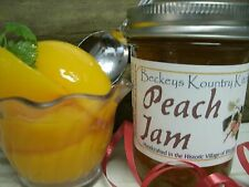 Peach Jam Homemade by Beckeys Kountry Kitchen Handcrafted Sweet & Delicious