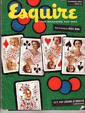 1953 Esquire November-White slaves; Rex Harrison; Biggie Munn;Schlagtag; Lilli