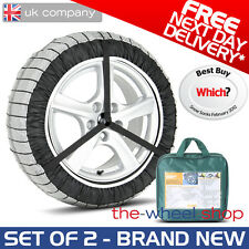 Silknet 70 Car Snow Socks Large for Audi A4 225/55 R16 and 225/50 R17 Tyre