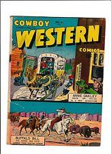COWBOY WESTERN #21  [1949 GD]  ANNIE OAKLEY STORY!