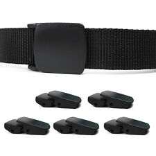 5pcs Durable Plastic Steel 25mm Outdoor Tactical Waist Belt Clip Buckles Clamp