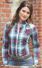 Wrangler Womens ROCK 47-Western Shirt- MULTI - Fully Embroidered - M - LJ8311M