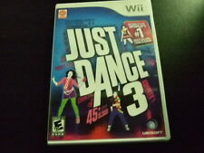 Replacement Case (NO GAME) JUST DANCE 3  NINTENDO WII