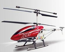 """30"""" M1 Skytech Hurricane RC Helicopter 3CH Gyro LED RTF M1 Red"""