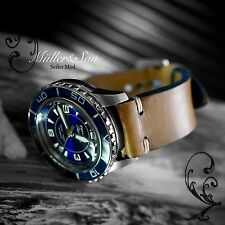 Seiko 5 Automatic Diver Sports Watch SNZH53 FFF Fifty Five Fathoms Blue Mod 1+
