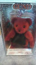 GUND 1992 Christmas Yulebeary cobbler Bear Red 1991 Label  Mistake Collectable