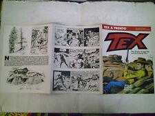 PIEGHEVOLE PUBBLICITARIO MOSTRA 50 ANNI TEX A TRENTO 1998