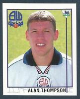 MERLIN-1996-PREMIER LEAGUE 96- #518-BOLTON WANDERERS-NEWCASTLE-ALAN THOMPSON