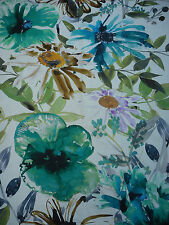 Chivasso Fabric 'Flowers of Paradise' 3.5 METRES CH2721-081 Large Scale Floral