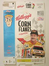 Kellogg's Cereal Box 18 oz CORN FLAKES 1997 Terry Labonte #5 Car CUT OUT on back