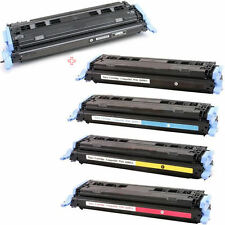 5PK Toner Cartridges for HP124A Q6000A, Q6001A,Q6002A, Q6003A  Laser jet 1600